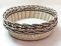 Košíky - Košík - priemer 18 cm - 10230089_