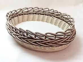 Košíky - Košík - ovál 26 cm - 10230126_