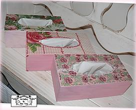 "Krabičky - Držiak na papierové utierky ""Roses"" :) - 10228453_"