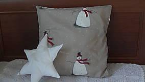 Úžitkový textil - Vianočný vankúš detský - 10231086_