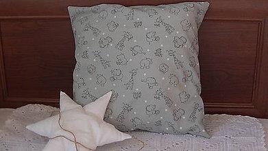 Úžitkový textil - Vankúšik pre chlapčeka - 10231114_