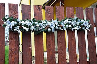 Dekorácie - Vianočná girlanda 150cm - rôzne farby - 10228144_