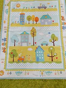 Textil - Detská prikrývka (Modrá) - 10230841_