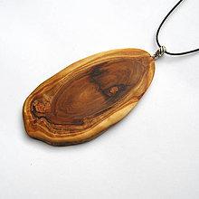 Náhrdelníky - Špaltovaný topoľový kalus - 10230468_