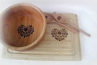 Nádoby - miska z čerešňového dreva... - 10233127_