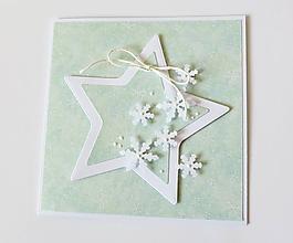 Papiernictvo - pohľadnica vianočná - 10231866_
