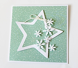 Papiernictvo - pohľadnica vianočná - 10231872_