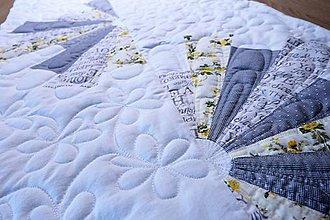 Úžitkový textil - Biely stredový obrus V. - 10233848_
