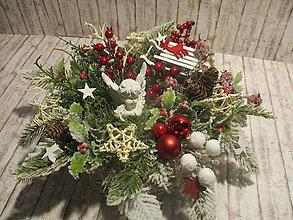 Dekorácie - Vianočná dekorácia - 10234122_