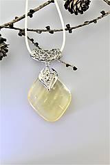 Náhrdelníky - prívesok  kalcit luxusný - 10232847_
