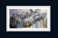 Obrazy - Strieborný dážď - 10233995_