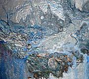 Obrazy - Strieborný dážď - 10233996_