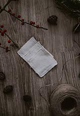 Úžitkový textil - Hranaté zero waste odličovacie tampóny - 10234397_