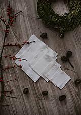 Úžitkový textil - Hranaté zero waste odličovacie tampóny - 10234399_