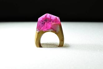 Prstene - Drevený prsteň Andy - 10234580_