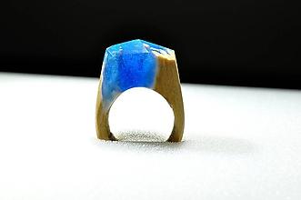 Prstene - Drevený prsteň Ezra - 10234590_