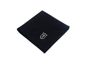 Doplnky - Vreckovka do saka - černá - 10231960_