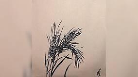 Iné tašky - ♥ Plátená, ručne maľovaná taška ♥ - 10231478_