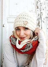 Šály - Zimný štýlový teplučký šál Malisa - 10234545_