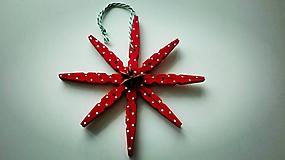 Dekorácie - Hviezdy vianočných sviatkov - 10234600_