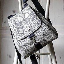 Batohy - Plátenný batoh
