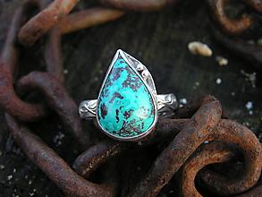 Prstene - Strieborny prsteň Ag925 Shatuckit - 10233037_
