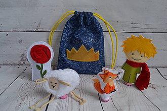 Hračky - Maňušky vo vrecúšku - Malý princ - 10234764_