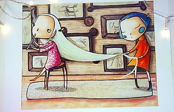 Kresby - Zaklínačka jednorožcov - 10232944_