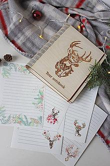 "Papiernictvo - Drevený zápisník ""Your notebook"" - 10232416_"