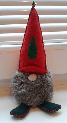 Drobnosti - Vianočný škriatok - 10232960_