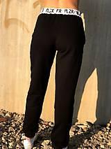 Nohavice - Tepláky čierne - 10231508_
