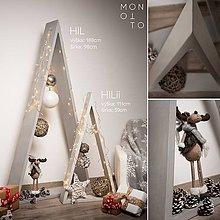 Dekorácie - Betónový vianočný stromček | séria HILii - výška 111cm - 10233180_