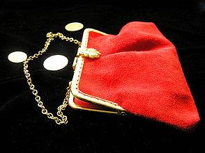 Kabelky - Mini kožená kabelka - 10232624_