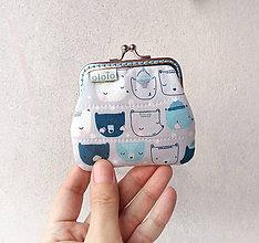Peňaženky - Peňaženka mini Medvedíky - 10232442_