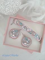 Sady šperkov - Pastelová jemnosť...sada v darčekovom balení - 10233664_