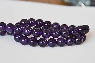 Minerály - Ametyst purple 8mm, 0.29€/ks - 10232148_