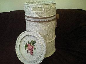 Košíky - Kôš na prádlo biely - 10234280_