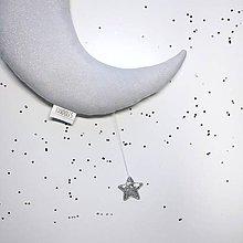 """Detské doplnky - Mesiac """"Silver"""" - 10232147_"""