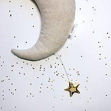 """Detské doplnky - Mesiac """"Gold"""" - 10232207_"""