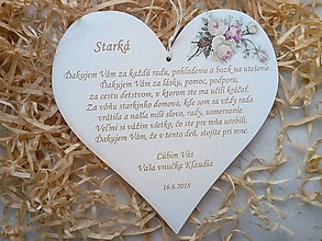 Tabuľky - Tabuľka Starká - 10235985_