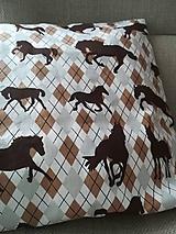 Úžitkový textil - Kto má rád koníky - 10235778_