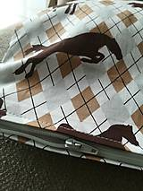 Úžitkový textil - Kto má rád koníky - 10235779_