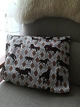 Úžitkový textil - Kto má rád koníky - 10235780_