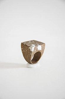 Prstene - Prsteň marmo 1° (prsteň plochý marmo 1°) - 10236801_