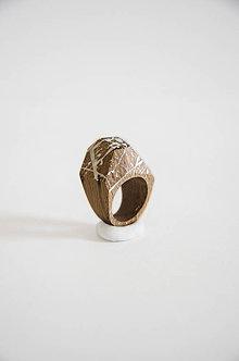 Prstene - Prsteň marmo 1° (prsteň fazetovaný marmo1°) - 10236840_