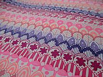 Kresby - LUPENE - ručne maľované, každý kus je originál (Modrá) - 10236958_