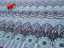 Kresby - LUPENE - ručne maľované, každý kus je originál (Modrá) - 10236966_