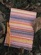 Kresby - LUPENE - ručne maľované, každý kus je originál (Modrá) - 10237144_