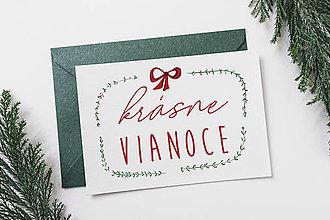 Papiernictvo - Pohľadnice krásne Vianoce (PDF) - 10237168_