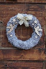 Dekorácie - Anjelské trúbenie - vianočný veniec - 10236630_